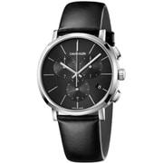 K8Q371C1 [Posh 42mm クロノ SS BKレザー BK 腕時計 並行輸入品 2年保証]