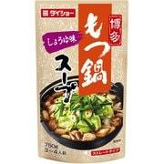 博多もつ鍋スープ しょうゆ 750g
