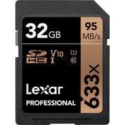 LSD32GCBJP633 [Lexar Professional 633x SDHC UHS-I カード U1 V10 32GB]