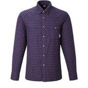 Tartan Western Shirt 421828 I00_インディゴ Sサイズ [アウトドア シャツ メンズ]