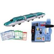 プラレール 乗車確認!出発進行!まるごと鉄道体験 E5系はやぶさコントロールセット