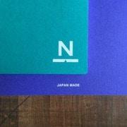 NN-04 [ノンブルノート N ピーコックグリーン×ロイヤルブルー]