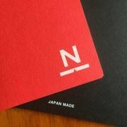 NN-08 [ノンブルノート N レッド×ブラック]