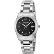 L2.285.4.56.6 [コンクエストクラシック ブラック 腕時計 並行輸入品 2年保証]