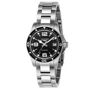 L3.340.4.56.6 [ハイドロコンクエスト ブラック 腕時計 並行輸入品 2年保証]