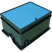 TSKSB-4BL [トーエー 樹脂製散水栓ボックス SB 4 ブルー]