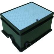 TSKSB-4M [トーエー 樹脂製散水栓ボックス SB 4 ミカゲ]