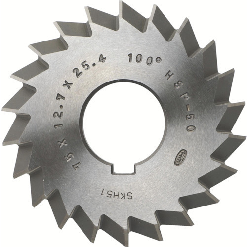 WAC-80X100X18X25.4 [FKD ダブルアングルカッター80°×100×18×25.4]