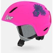 LAUNCH 7104864 Mat Bright Pink XSサイズ [ヘルメット ジュニア]