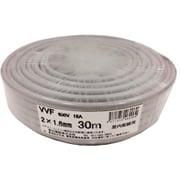 VVFケーブル 2心X1.6mm 30m 灰色