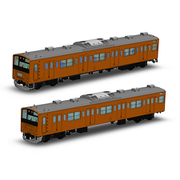 PP072 JR東日本201系直流電車 中央線 クハ201・クハ200キット [1/80スケール プラモデル]