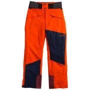 SHINY PANTS G31610P (MR)マグマレッド Mサイズ [スキーウェア ボトムス メンズ]