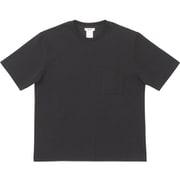 ミディアムドライジャージ ビッグティーウィズポケット BIG TEE WITH POCKET MX38302 (K)ブラック Lサイズ [アウトドア カットソー メンズ]