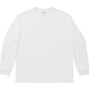 ミディアムドライジャージ ロングスリーブクルー LONG SLEEVE CREW MX38303 (W)ホワイト Sサイズ [アウトドア カットソー メンズ]