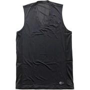 クーリングVネックスリーブレス 3F09113 (K) ブラック Mサイズ [コンディショニングウェア メンズ]