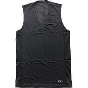 クーリングVネックスリーブレス 3F09113 (K) ブラック Lサイズ [コンディショニングウェア メンズ]
