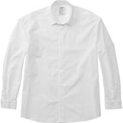 LONG SLEEVE SMART BROAD SHIRT MX69103 W_ホワイト Sサイズ [アウトドア シャツ メンズ]