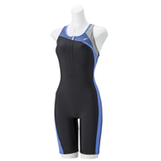ウイメンズスパッツスーツ SD57N42H XB_Xブルー Lサイズ [フィットネス・競泳水着レディース]