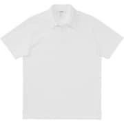 ミディアムドライジャージ ショートスリーブポロ SHORT SLEEVE POLO MX38101 (W)ホワイト Lサイズ [アウトドア カットソー メンズ]