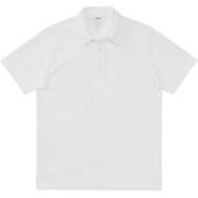 ミディアムドライジャージ ショートスリーブポロ SHORT SLEEVE POLO MX38101 (W)ホワイト Mサイズ [アウトドア カットソー メンズ]