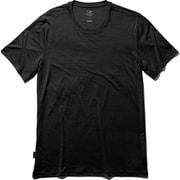 テックライトショートスリーブクルー IT21800 (K)ブラック Mサイズ [アウトドア カットソー メンズ]