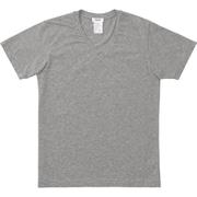 SHORT SLEEVE V-NECK MX18133 Z_ミックスグレー Mサイズ [アウトドア カットソー メンズ]