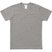 SHORT SLEEVE V-NECK MX18133 Z_ミックスグレー Sサイズ [アウトドア カットソー メンズ]