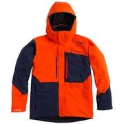 SHINY JACKET G11610P (MR)マグマレッド Mサイズ [スキーウェア ジャケット メンズ]
