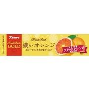 フルーツリッチのど飴gOLD濃いオレンジ 11粒