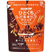 バランスアップ ひとくち玄米クリスプ チョコ 180g