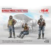 32105 イギリス空軍 パイロットセット 1939-1945 [1/32スケール プラモデル]