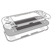 PC BODY COVER for Nintendo Switch Lite クリア