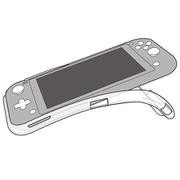 TPU BACK COVER for Nintendo Switch Lite クリア