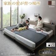 YS-223315 [ベッド グレージュ ワイドK200 レギュラー]