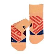 Mid Sock XS Coral/Navy [ランニング小物]