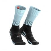Mid Compression Socks MDS-R-9954-T1 BLACK/ICE BLUE サイズT1 [ランニング小物]