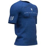 TraInIng TshIrt SS-Mont Blanc 2019 BLUE [ランニングシャツ]