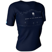 TraInIng TshIrt SS W-Mont Blanc 2019 BLUE [ランニングシャツ]