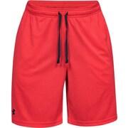 UA Tech Mesh Short 1328705 RED/BLK LGサイズ [トレーニングパンツ メンズ]