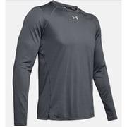 UA QUALIFIER LONGSLEEVE 1342930 PCG/PCG/RLT SMサイズ [ランニングシャツ メンズ]