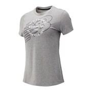 グラフィックヘザーテッククルー AWT83144 HG Lサイズ [ランニングシャツ メンズ]