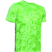 UA SPEED STRIDE PRINTED SS 1326778 LLT/LLT/RLT LGサイズ [ランニングシャツ メンズ]