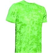 UA SPEED STRIDE PRINTED SS 1326778 LLT/LLT/RLT MDサイズ [ランニングシャツ メンズ]