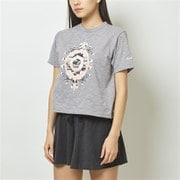 EVOLVE クロップTシャツ WT93480 AG Lサイズ [ランニングシャツ レディース]