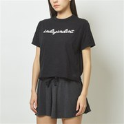 EVOLVE クロップTシャツ WT93480 BM Mサイズ [ランニングシャツ レディース]