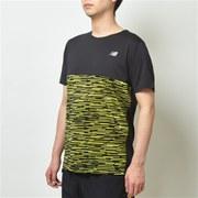 NB HANZO ショートスリーブグラフィックTシャツ AMT93192 SYE XLサイズ [ランニングシャツ メンズ]