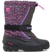 ユースフルーリー NY3503 089 Dark Grey Pink Glo 24cm [防寒ブーツ キッズ]