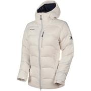 Xeron IN Hooded Jacket AF Women 1013-00711 00317dark white Sサイズ [アウトドア ダウンウェア レディース]