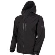 アヤコプロエイチエスフーデットジャケットメン Ayako Pro HS Hooded Jacket AF Men 1010-27550 0001 black Sサイズ [アウトドア ジャケット メンズ]