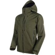 Ayako Pro HS Hooded Jacket AF Men 1010-27550 iguana XSサイズ [アウトドア ジャケット メンズ]